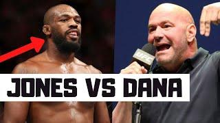 Jon Jones Is Not Vacating His LHW Title - Jon Jones vs Dana White MMA News Reaction