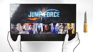 Unboxing JUMP FORCE Collector