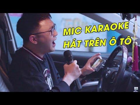 Micro Karaoke không dây hát trên ô tô Excelvan K18U