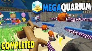 FINAL EXPANSION Completed, Best Aquarium Simulator | Megaquarium Gameplay