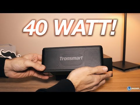 Miglior Cassa Bluetooth Tronsmart: 40 WATT DEVASTANTI