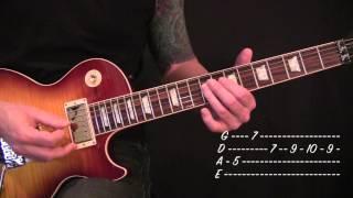 Gary Numan - Cars - Guitar Lesson