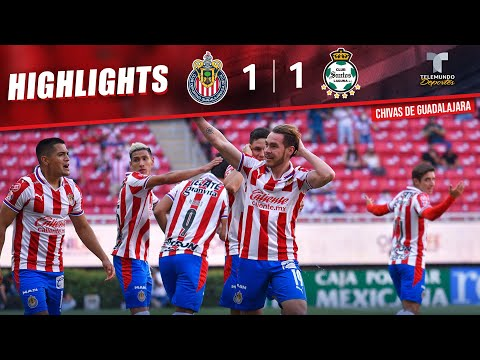 Chivas vs. Santos 1-1   Highlights & Goals   Telemundo Deportes