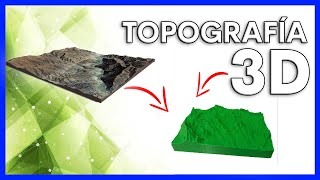 Como crear ficheros STL de mapas topográficos 3D | impresión 3D a partir de mapas de Google Earth