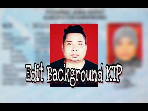 Video Cara paling gampang edit background foto untuk KTP di Picsart