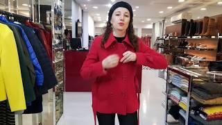 Vídeo Casaco de Lã Rosa Pink Alex Fechamento Duplo
