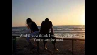 Dido - Too Bad Lyrics