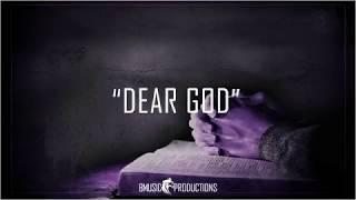 Dear God - Dark Angry Guitar Rap Beat Hip Hop Instrumental  - 2019