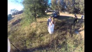 Drone Wedding by Melbourne Aerial Video at Poachers Pantry Hall NSW - Andrew & Karissa Lancaster