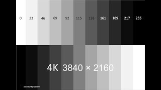 How to test LCD screen- fast & effect- 4K resolution -3840*2160