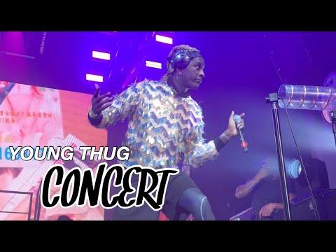 young thug concert vlog atlanta (feat. gunna, lil keed, lil yachty, ybn nahmir, mgk)