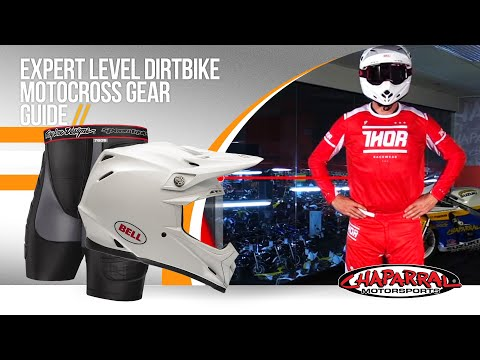 Expert Level Dirtbike Motocross Gear Guide – ChapMoto.com – 2016