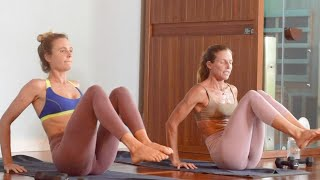 FAT BURNING Sculpt X HIIT With ALANA And WAVES YOGA | FULL BODY WORKOUT