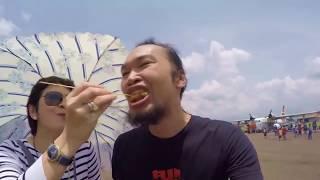 Disuapin Nurul Arifin di Bandung Air Show 2017