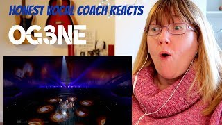 Vocal Coach Reacts to OG3NE  'Lights and Shadows' The Netherlands LIVE  2017 Eurovision Song Contest