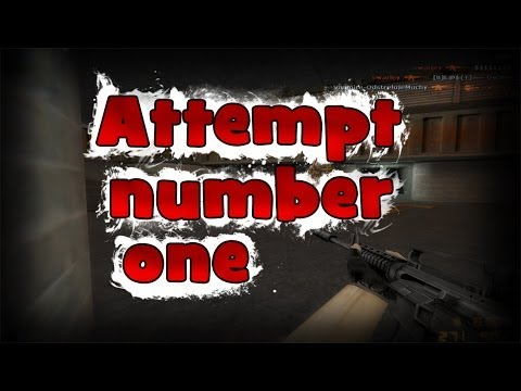 ► GG - Counter Strike 1.6 | Attempt number one