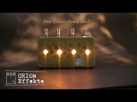 Orion Effekte elektrischer Adventskranz - Countdown