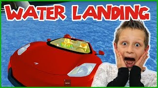 Landing in Water with Freddy in Ultimate Driving
