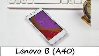 """4,5"""" Mit LTE ? Lenovo B (A40) Im Test - Review - Deutsch"""