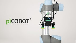 piCOBOT® – Small, powerful and ready to collaborate with human and cobot workers!