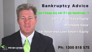 Bankruptcy in Australia -  Can I Keep My Car If I go Bankrupt