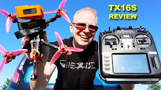 The New RADIOMASTER TX16S - The BEST Affordable Radio for FPV Drones & RC Hobby - Review