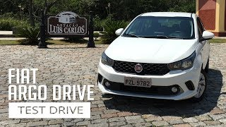 Fiat Argo Drive 1.3 Manual - Test Drive