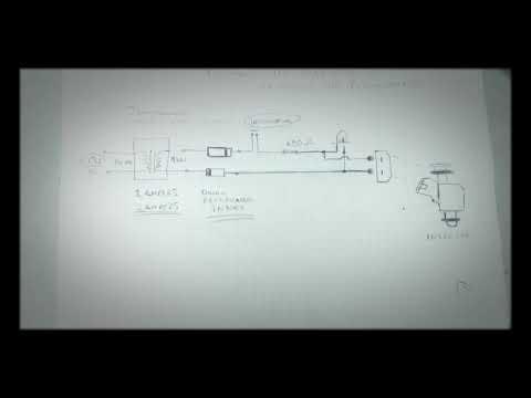 Probador de inyector sencillo.