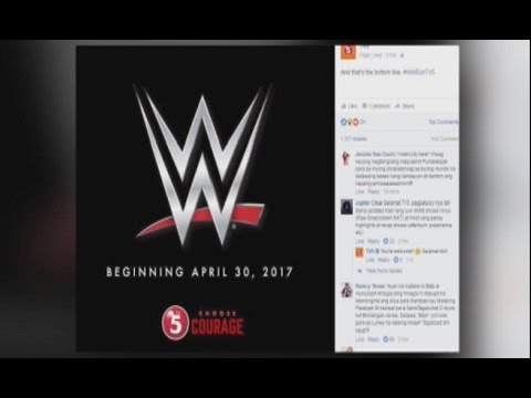 WWE sa TV5