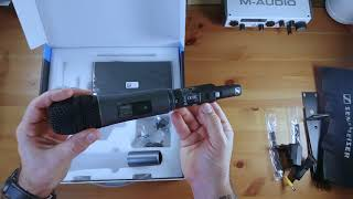 Sennheiser Wireless Vocal Set Unboxing, Sxw 2-865 Unboxing , Micrófono Inhalámbrico Sennheiser ,