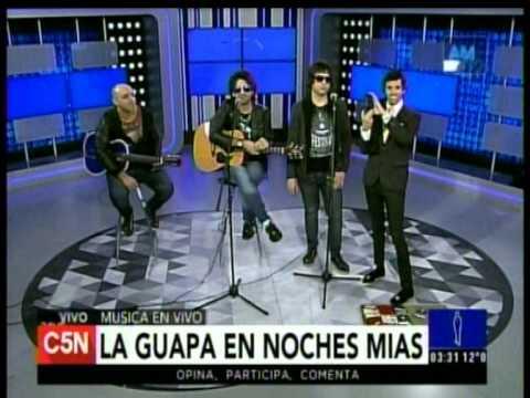 C5N – MUSICA EN VIVO: LA GUAPA EN NOCHES MIAS