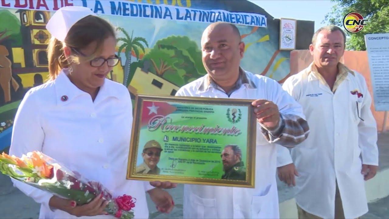 Saludan en Granma Día de la Medicina Latinoamericana