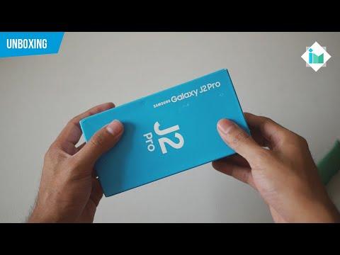 Samsung Galaxy J2 Pro 2018 | Unboxing en español