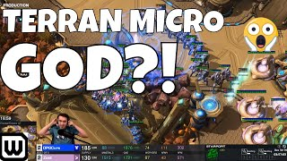 Starcraft 2: INSANE TERRAN MICRO! (Cure vs Zest)