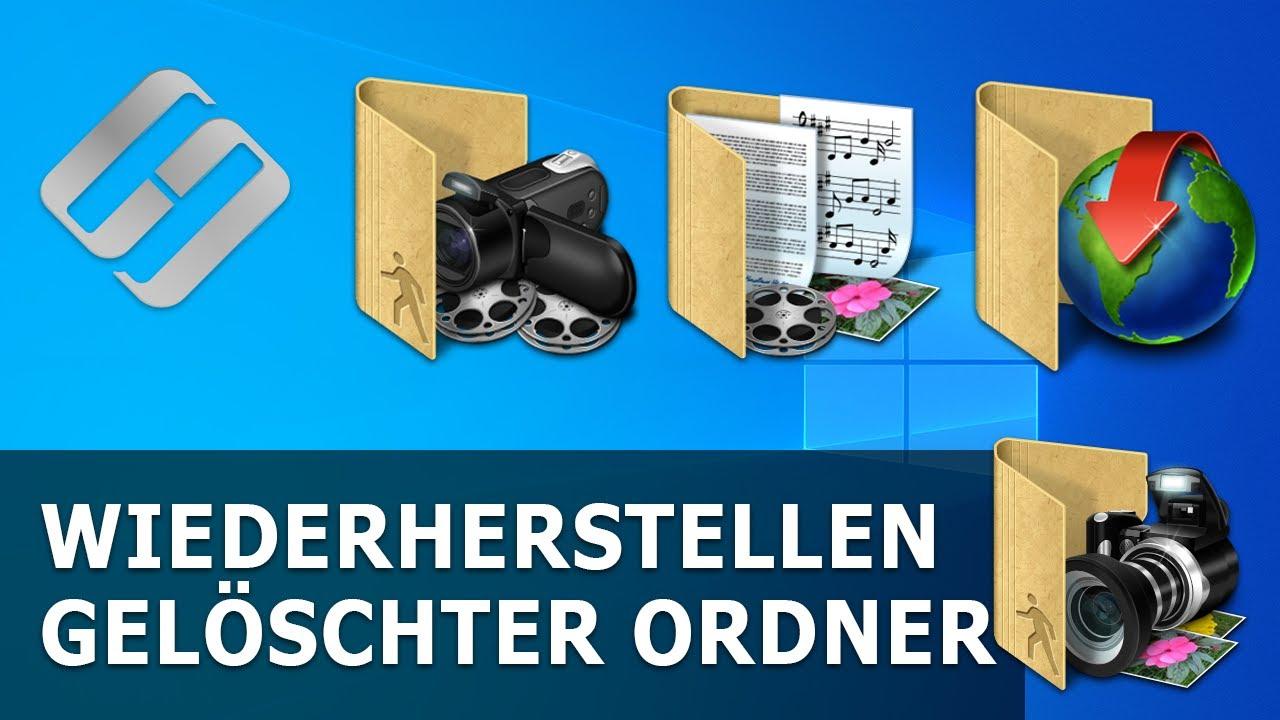 Programm zum Wiederherstellen gelöschter Ordner aus dem Papierkorb oder Windows-Archiv