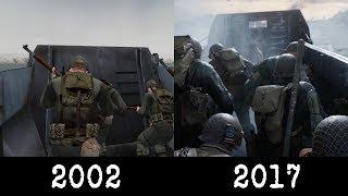 Medal of Honor (2002) vs Call of Duty (2017): Omaha Beach Comparison
