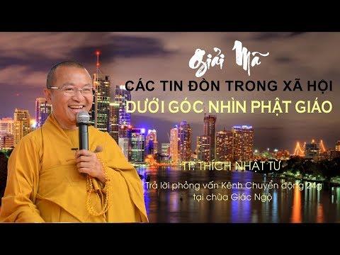 Thầy Nhật Từ trả lời phỏng vấn Kênh Chuyển động 24h tại chùa Giác Ngộ