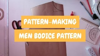 Pattern-Making | How To Make Your Patterns 【Men】