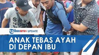Pria di Sulsel Tebas Leher Ayah Pakai Parang di Depan Ibu Kandung, Saksi Menjerit Histeris