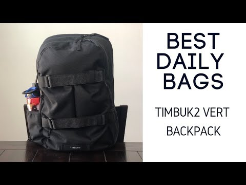 Best Daily Bags: Timbuk2 Vert Backpack Review