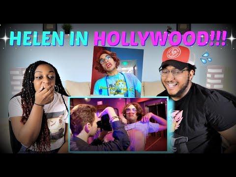 "Brandon Rogers ""HELEN HATES HOLLYWOOD"" REACTION!!!"