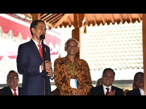 Reuni Teman UGM, Jokowi: Dulu Saya Ditolak Jadi Pegawai Perhutani, Eh Malah Diterima Jadi Presiden