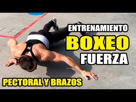 Entrenamiento Fisico BOXEO ||  FUERZA PECTORAL Y BRAZOS