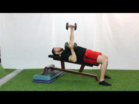 Alternating Incline Neutral Grip Dumbbell Bench Press - An Exercise Demo by Optimizing Athleticism