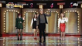 미쓰에이와 함께하는 박진영 댄스 메들리♬ - 히든싱어2 10회