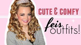 FUN FEIS OUTFITS! (Its Irish Dance Fashion Lol) |  Cait B