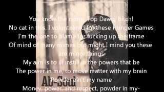 "Ab-Soul ft Rick Ross ""Nevermind That"" lyric video"