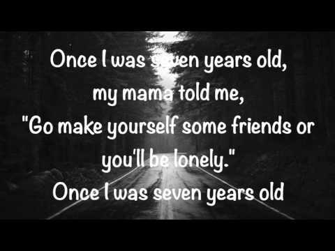 Lukas Graham - 7 years (lyric video) (видео)