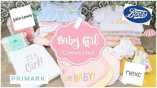 Baby Girls Clothing Haul