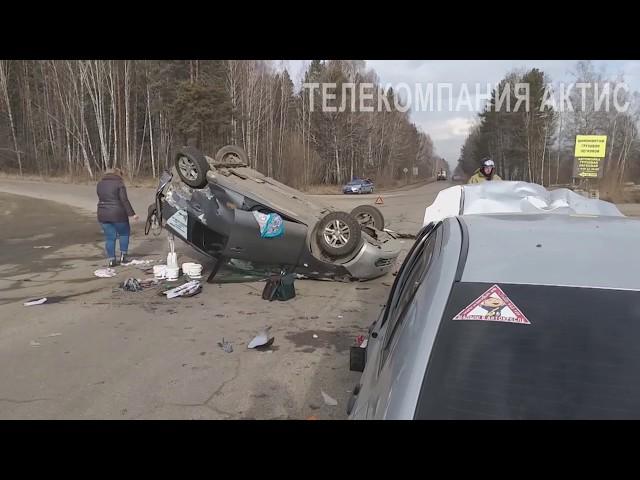 Двое пострадавших и четыре разбитых авто